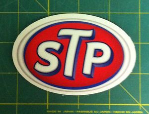 2 STP Oil Service Truck Semi Car Window Decals Stickers