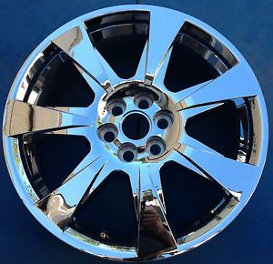 "2010 2011 2012 Cadillac SRX 20"" Factory Chrome Clad Wheel Rim 4666 Very Good"