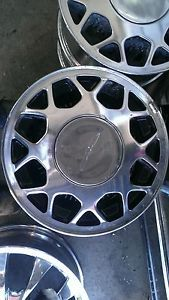 1988 Ford Thunderbird Wheels Rims 1987 1988 Factory Chrome Polish