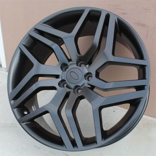 "20"" Range Rover Evoque Wheels and Tires Package 20x8 5 5x108 ET45 Matte Black"