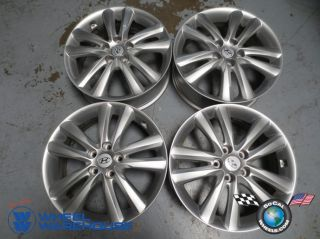 Four 10 13 Hyundai Tucson Factory 18 Wheels Rims 70795 52910 25310