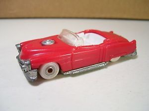 Hot Wheels '53 Cadillac Custom Convertible Plastic Diecast Red 1993