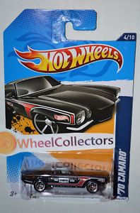 '70 Camaro Black 2012 Hot Wheels H Case Performance