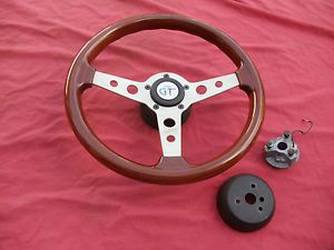 Grant GT Wood Steering Wheel GM 69 93 Camaro Chevelle Nova 442 GTO Cadillac