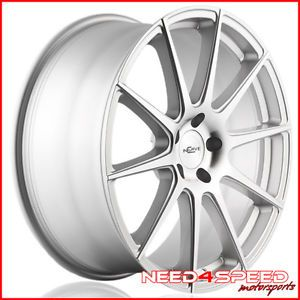 "20"" Lexus LS430 LS Incurve IC S10 S10 Concave Silver Staggered Wheels Rims"