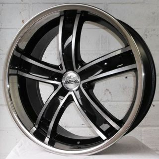 "22"" Mercedes ml AMG 2006 2011 Antera 381 Staggered Alloy Wheels 5x112"