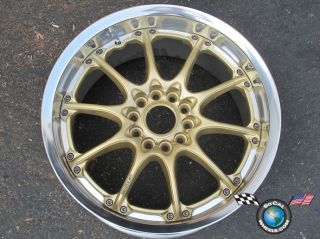 One Volk Racing Mustang Acura NSX 17x9 GT N Gold Wheel Rim 5x4 5 37 Offset