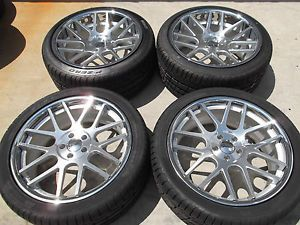 "20"" Gianelle Wheels Tires Rims 5x112 Bentley Continental GT GTC Flying Spur"