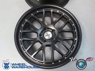 Mercedes E C Class Audi A4 A5 A6 TSW Valencia Black 20 Wheels Rims 20x8 5 20x10