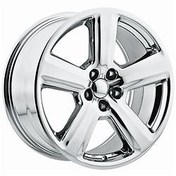 18 inch Chrome Audi A04 OE Replica Wheels Rims 5x112 A4 A6 A7 A8 Quattro