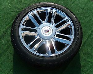 New GM Cadillac Escalade Platinum 22 Wheels Tires