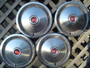 1975 78 Ford Mustang Hubcaps Center Caps Wheel Covers