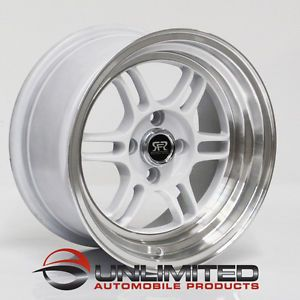 "15"" Road Force RFR 06 Wheels Rims Fit Acura Integra GSR LS GS RS"