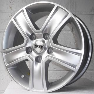 "16"" VW Amarok 2010 Models XTK Tekno KV5 Silver Alloy Wheels 5x120"