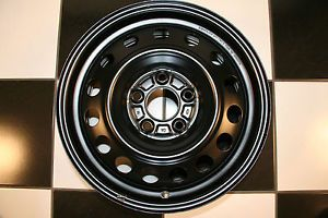 "Hyundai Elantra Factory 16"" Black Steel 2011 2013 Wheel Rim 70811 Single"