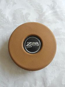 78 81 Camaro Tan Z28 Steering Wheel Center Cap Horn Cover