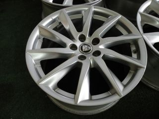 "18"" Factory Jaguar XF Wheels 2011 2012 2013 59885 Silver"