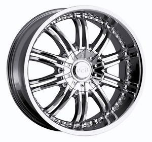 20 inch VCT Santino Chrome Wheel Rim 5x115 Chrysler 300 SRT8 Aurora Intrigue