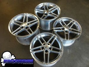 "GM Chevy Corvette C6 ZO6 Factory Polished 18"" and 19"" Wheels Rims"