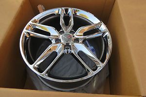2014 Corvette Stingray Z51 Chrome Wheels