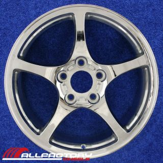 "Chevy Corvette 17"" 2000 2001 2002 2003 2004 Rim Wheel Front Chrome 5102"