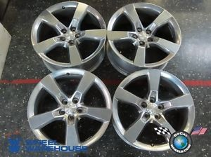 "Four 10 12 Chevy Camaro Factory 20"" Wheels Rims 5443 5445 Polished"