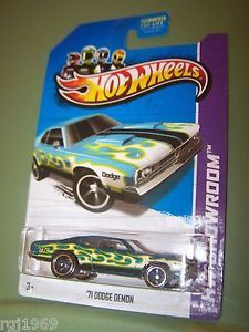2013 Hot Wheels 71 Dodge Demon Super Treasure Hunt