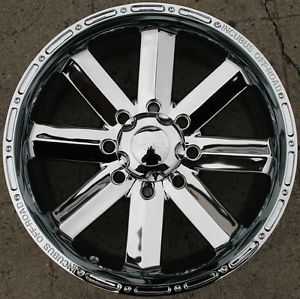 Incubus Recoil 518 20 x 9 0 Chrome Rims Wheels Dodge RAM 2500 8H 94 02 8H 12