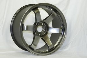 19 Rota Grid Hyper Black Rims Wheels Nissan 350Z Infiniti G35 Coupe Ford Mustang