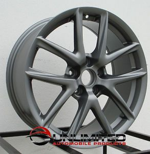 "19"" LFA Matte Gun Metal Wheels Rims Fit Lexus SC300 sc400 SC430 1992 2010"