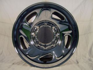 "Dodge 2500 Truck RAM Van 16"" 8 Lug Stock Factory Wheel Rim Chrome Steel 2042"
