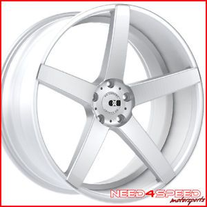 "20"" Nissan Altima XO Miami Concave Silver Staggered Wheels Rims"