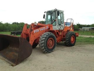 1997 Fiat Allis FR140 2 Rubber Tires Wheel Loader