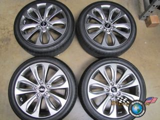 "Four 11 13 Hyundai Sonata Factory 18"" Wheels Tires Rims 70804 225 45 18"