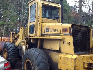 Fiat Allis 545B Wheel Loader w Forks Runs Great New Fuel Pump Injection Pump