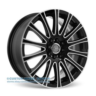 "17"" Dcenti DW905 Black Rims for Saturn Scion Suzuki Toyota Wheel"