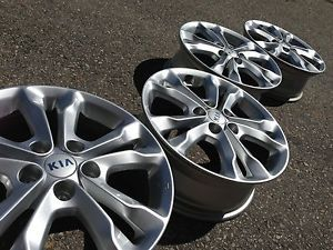 "2013 17"" Kia Optima Hyundai Sonata Soul Factory Stock Wheels Rims 5x114"