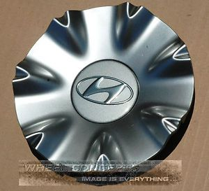 "Hyundai Genesis Sedan Center Cap Wheel Cover Silver for 18"" Wheel Rim 1 Single"
