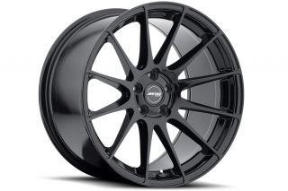 "19"" Ground Force GF06 GF6 Black Concave Rims Wheels Fits Infiniti G35 Coupe"