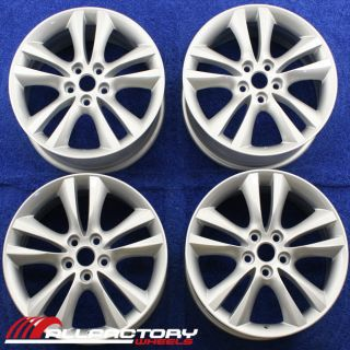 "Jaguar x Type 17"" 2006 2007 2008 Factory Rims Wheels Bermuda Set 59808"