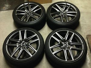 18'' IS250 is350 Lexus 2014 F Sport F Sport Alloy Wheels Rims Tires 19 17