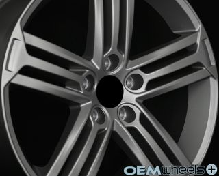 "18"" Matte Gunmetal Wheels Fits VW Golf R R32 GTI Jetta MK5 MKV MK6 Mkvi Rims"