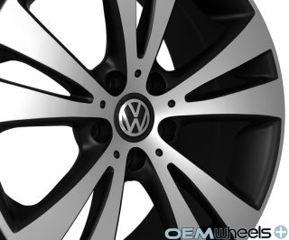 "18"" Black Euro Style Wheels Fits VW Golf R R32 GTI Jetta MK5 MKV MK6 Mkvi Rims"