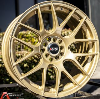 18x8 75 XXR 530 5x114 3 33mm Gold Wheel Fits Scion Fr s Subaru BRZ