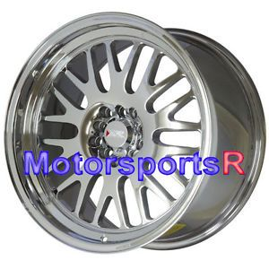 18 XXR 531 Platinum Staggered Rims Wheels Deep Lip 5x100 13 Scion FRS Subaru BRZ