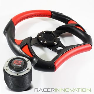 320mm Black Steering Wheel