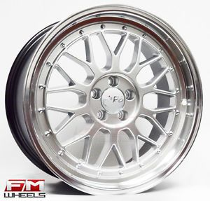 "18"" Miro 279 M02 Staggered Wheels 5x100 Rims VW Golf Jetta Gli MK IV Scion TC"