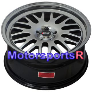18 18x8 5 XXR 531 Chromium Black Wheels Rims Single Drilled 5x100 13 Subaru BRZ