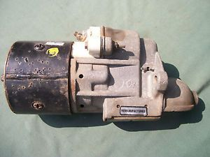 Used Chrysler Dodge Plymouth Slant 6 Gear Reduction Starter 2875563 Parts Read