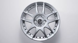 "04 06 Scion XA XB 15""x5 5 10 Spoke Alloy Wheel Set of 4"